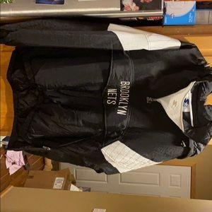 Brooklyn Nets 2XL Starter Pullover Jacket